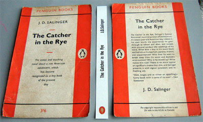 The ragged edges of the original cover have been trimmed and a new spine label  made.